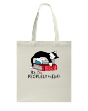 CAT and BOOK - BEST GIFT Tote Bag thumbnail