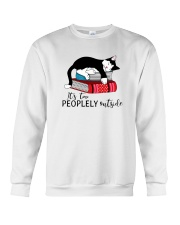 CAT and BOOK - BEST GIFT Crewneck Sweatshirt thumbnail