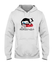 CAT and BOOK - BEST GIFT Hooded Sweatshirt thumbnail