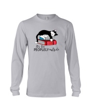 CAT and BOOK - BEST GIFT Long Sleeve Tee front