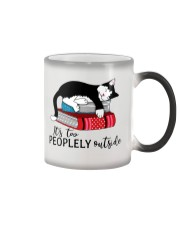 CAT and BOOK - BEST GIFT Color Changing Mug thumbnail