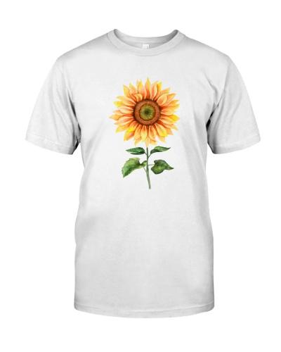 Sunflower water color sunshine