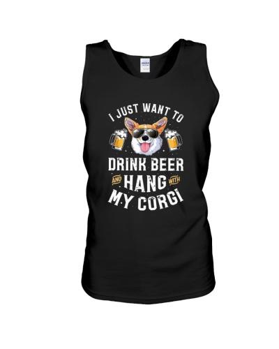 Drink beer hang with my Corgi