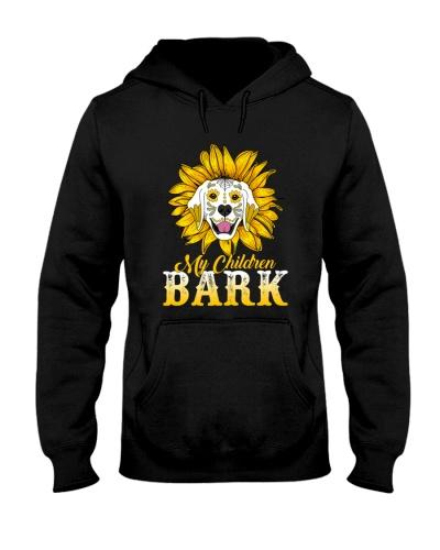 My children bark
