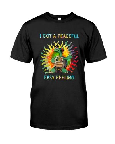 I got a peaceful easy feeling
