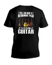 I Have A Retirement Plan V-Neck T-Shirt thumbnail