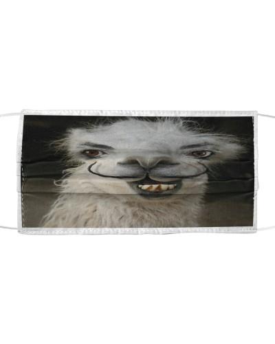 Funny alpacas animal face