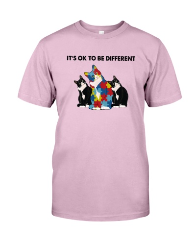 It's Ok To Be Different Cat