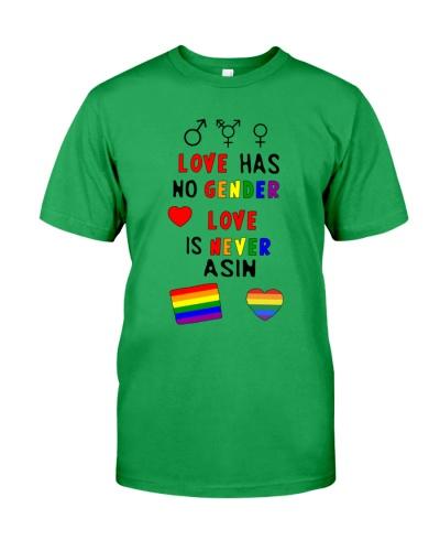 Love has no gender love is never asin