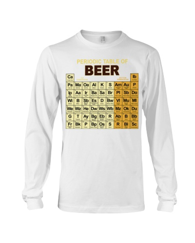 LETIBEE periodic table of beer