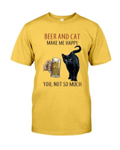 LETIBEE Beer Cat Make Me Happy