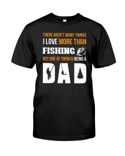 Funny fishing dad