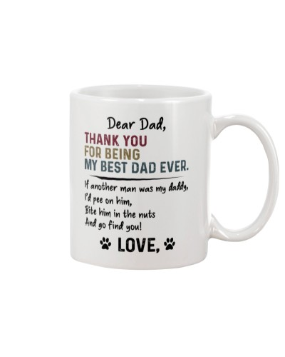 Thank You For Being My Dog Dad