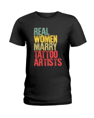 Real woman marry tattoo artist