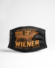 Just a boy who got a long wiener Cloth face mask aos-face-mask-lifestyle-22