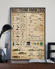 Bass fishing knowledge 16x24 Poster lifestyle-poster-2