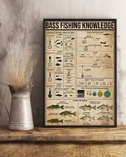 Bass fishing knowledge 16x24 Poster lifestyle-poster-3