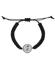 My mind still talks to you Cord Circle Bracelet thumbnail