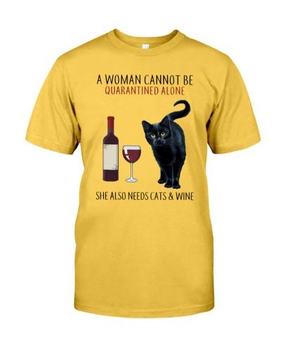 Woman Cat Wine