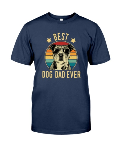 Best Dog Dad Ever Pitbull