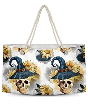 Witchy Sunflower Skull Pattern Weekender Tote tile