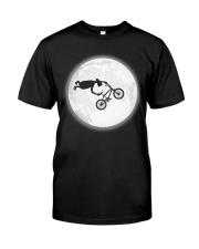 BMX UFO The Moon Classic T-Shirt front