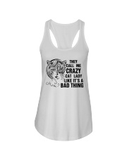 They Call Me Crazy Cat Lady Ladies Flowy Tank thumbnail