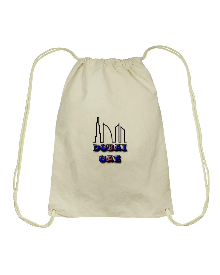 dubai bag Drawstring Bag