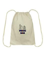 dubai bag Drawstring Bag front