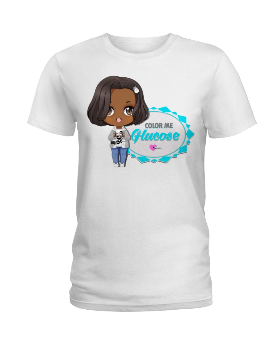 Hanging With The ColorSquad Ladies T-Shirt