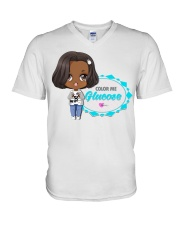 Hanging With The ColorSquad V-Neck T-Shirt thumbnail