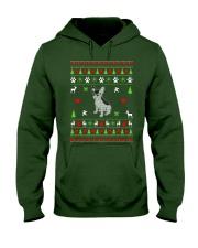 French Bulldog Ugly Christmas Sweater Hooded Sweatshirt thumbnail