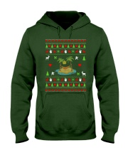 Beach Ugly Christmas Sweater Hooded Sweatshirt thumbnail