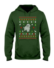 Bichon Frise Ugly Christmas Sweater Hooded Sweatshirt tile