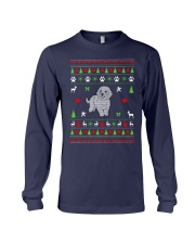 Bichon Frise Ugly Christmas Sweater Long Sleeve Tee thumbnail