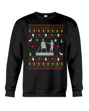 Painting Ugly Christmas Sweater Crewneck Sweatshirt front