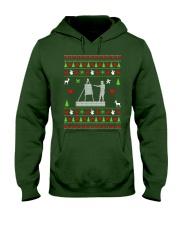 Painting Ugly Christmas Sweater Hooded Sweatshirt thumbnail