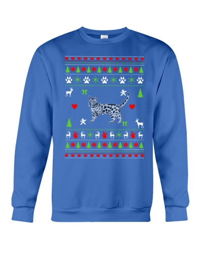 Bengal Cat Ugly Christmas Sweater