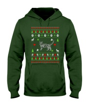 Bengal Cat Ugly Christmas Sweater Hooded Sweatshirt thumbnail