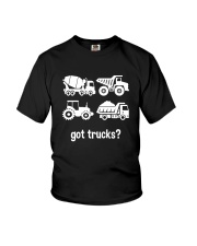 GOT TRUCKS Youth T-Shirt front