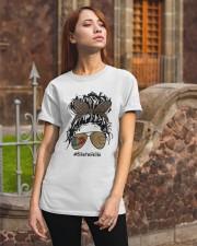 Biker wife Classic T-Shirt apparel-classic-tshirt-lifestyle-06