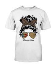 Biker wife Classic T-Shirt front