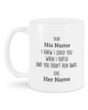 Funny Valentine's Day Gift Mug back