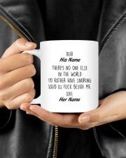 Funny Valentine's Day Gift Snoring Mug ceramic-mug-lifestyle-25