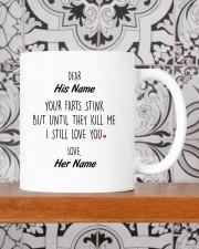 Funny Valentine's Day Gift Still Love You Mug ceramic-mug-lifestyle-48