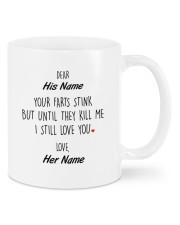 Funny Valentine's Day Gift Still Love You Mug front