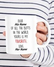 Funny Valentine's Day Gift Favorite Butt Mug ceramic-mug-lifestyle-36