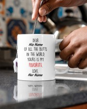 Funny Valentine's Day Gift Favorite Butt Mug ceramic-mug-lifestyle-60