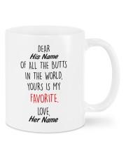 Funny Valentine's Day Gift Favorite Butt Mug front