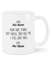 Funny Valentine's Day Gift Mug front
